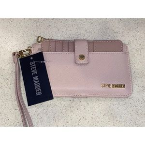 Dusty Rose Wallet Wristlet